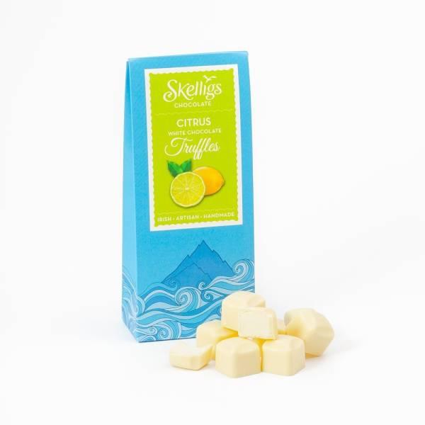 Skelligs citrus truffles