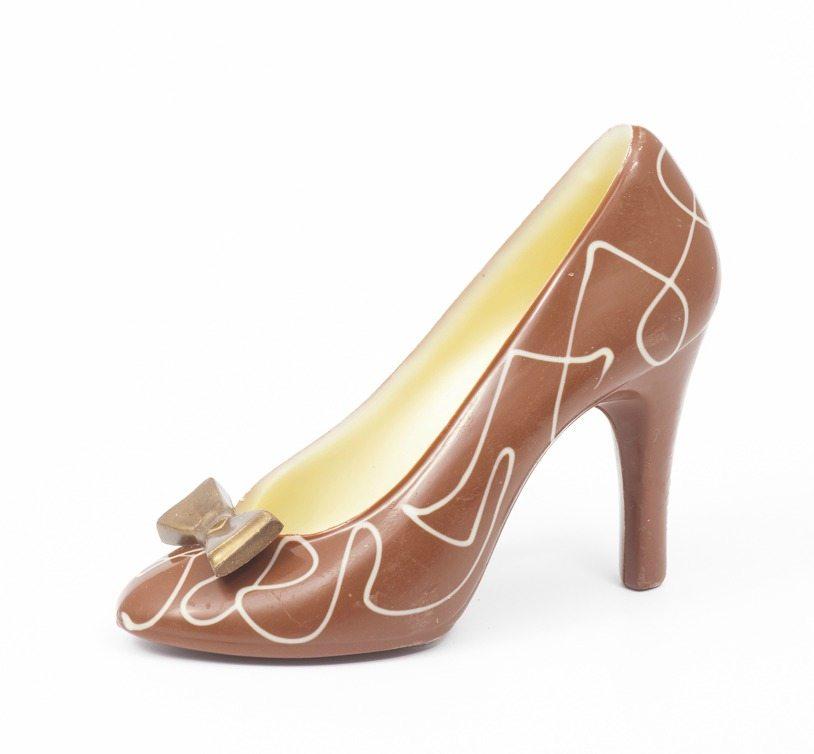 Milk Chocolate Shoe