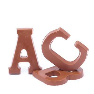 Chocolate Letter