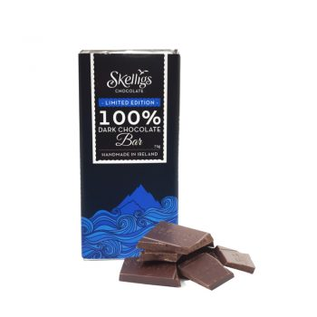 100% Dark Chocolate Bar