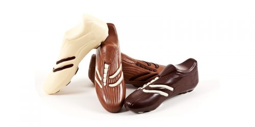 Chocolate Football Boot