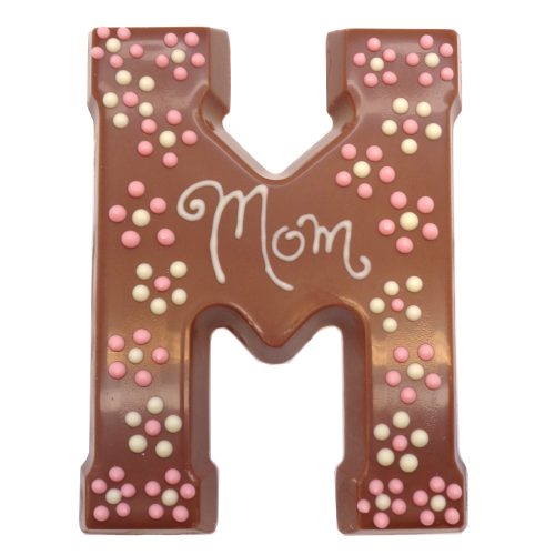 Mom chocolate letter